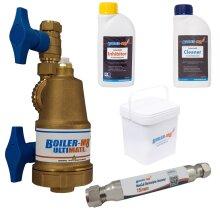 Boiler-m8 Ultimate Magnetic Filter 22mm Part L Compliance Pack