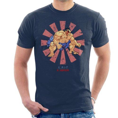 E Honda Retro Japanese Street Fighter Men's T-Shirt