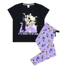 Disney Womens/Ladies Its Good To Be Bad Villains Pyjama Set