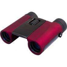 Levenhuk 8x25 Rainbow Binocular (Red Berry)