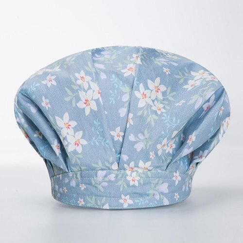 (hat-350850 / One Size) Unisex Printing Housework Cap - Canteen, Restaurant, Kitchen Food Service Chef Hats