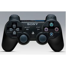Genuine Sony DualShock 3 PS3 controller Black - Used