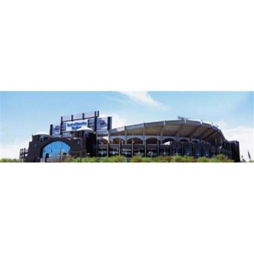 Football stadium in a city  Bank of America Stadium  Charlotte  Mecklenburg County  North Carolina  USA Poster Print by  - 36 x 12