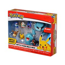 Elf Pokémon Battle Figure 8-Pack  - Perfect for Any Trainer
