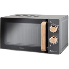 Tower T24027G Scandi Microwave 20L and 6 Power Levels, 800 W, Grey