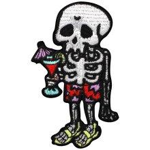 Grindstore Holiday Skeleton Patch