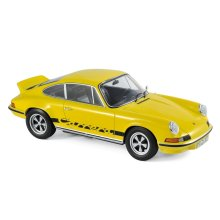 Norev 1:18 Porsche 911 RS Touring 1973 - Yellow & Black Model Diecast Detailed