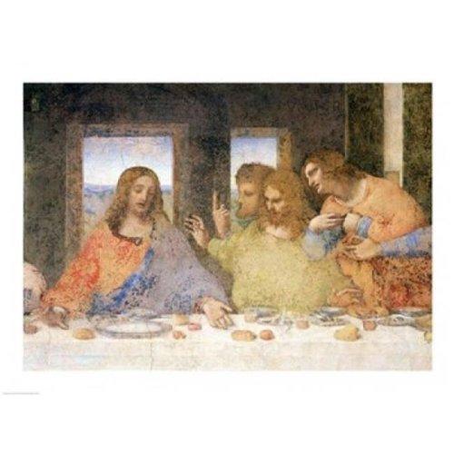 The Last Supper Post Restoration Poster Print by Leonardo Da Vinci - 24 x 18 in.