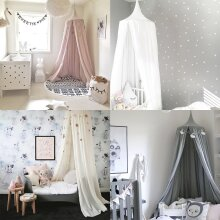 Kid Bed Canopy Princess Dome Tent Bedding