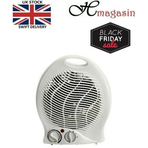 Fan Heater 2KW Small Portable Electric Hot Warm or Cold Air Upright-FH04