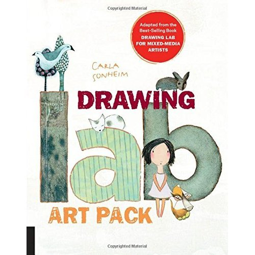 Drawing Lab Art Pack: A Fun, Creative Exercise Book & Sketchpad  Burst: Adapted from the best-selling book Drawing Lab for Mixed-Media Artists