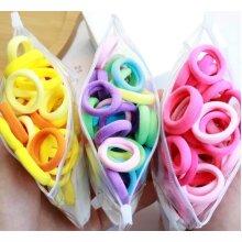 Colorful Nylon Small Elastic Hair Bands