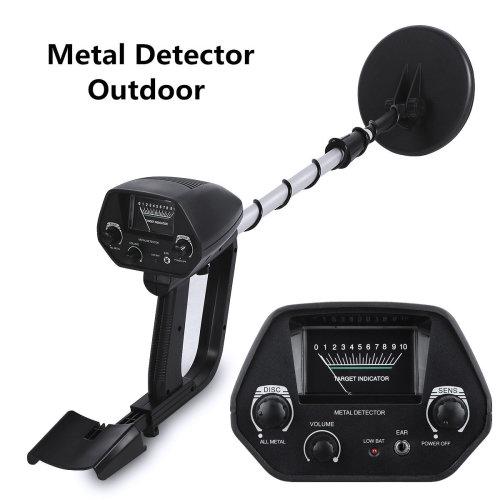 Metal Detector Waterproof Deep Sensitive Search Gold Hunter 5kHz