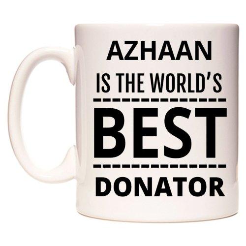 AZHAAN Is The World's BEST Donator Mug