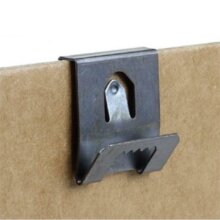 Clip Over Sawtooth Frame Hanger 2-3mm Board Picture Photo Hanging