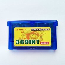 369 Games in 1 GBA Game Ablum Cartridge Cart for GBM GBA SP NDSL