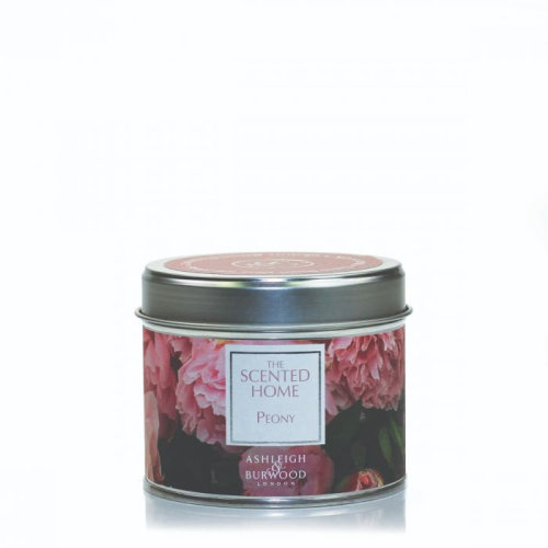 Ashleigh & Burwood Scented Home Tin Candle 165g Peony