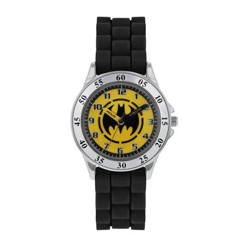 DC Comics Batman Logo Black Analogue Watch