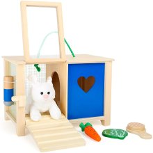 Legler Toy Rabbit Hutch for Age 2 Years and Above