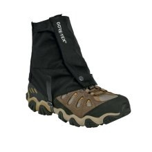 Trekmates Glenmore Ankle Gaiters | One Size Fits All Walking Gaiters - Black