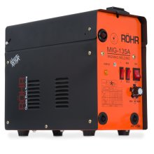 MIG Welder Gasless 240V / 135 amp AC Welding Machine - Röhr MIG-135A