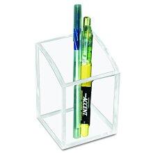 Kantek Acrylic Pencil Cup 28-Inch Wide x 28-Inch Deep x 4-Inch High Clear (AD20)