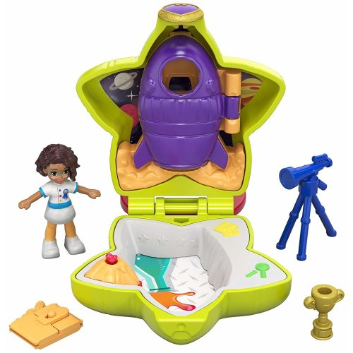 Polly Pocket GCN09 Tiny Pocket Places Rockin Science Compact