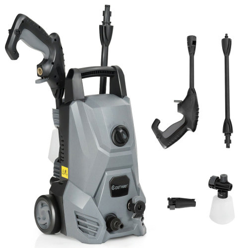 Electric High Pressure Washer Power Jet Water 105 BAR 1523PSI Cleaner