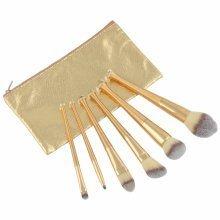 LaRoc 6pc Gold Brush Set with Case