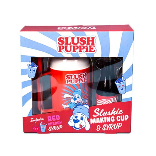 Slush Puppie Slushie Making Cup and Syrup Gift Set - Cherry
