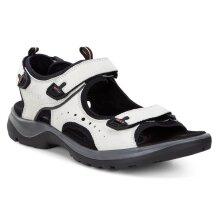 Ecco Womens Offroad Shadow Yabuck Leather Adjustable Comfort Sandals
