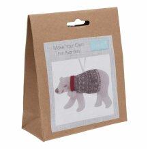 Felt Decoration Kit: Polar Bear