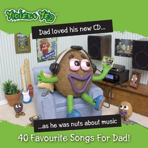 Violent Veg 40 Favourite Songs for Dad! [dvd Audio] [CD]