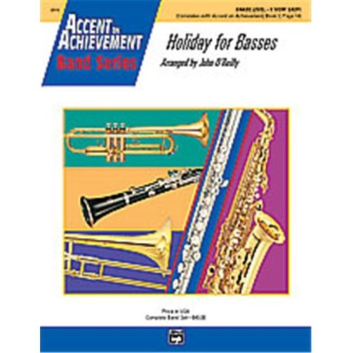 Alfred 00-20519 HOLIDAY FOR BASSES-AOA