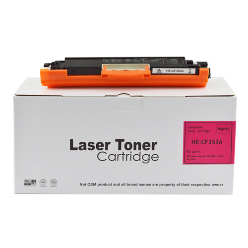 Compatible CF353A Toner Cartridge For Hewlett Packard Pro MFP P176 Magenta