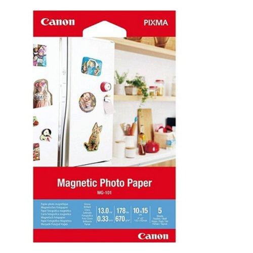 Canon Glossy Photo Paper Canon MG-101 (5 Sheets)