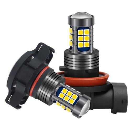 (H10 (9145)) LED Fog Lights 12v Bulbs For The Car