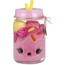 Num Noms Surprise in A Jar- cake Bear Plush, Multicolor