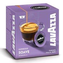 Lavazza Soavemente Coffee Pod Capsules x 16