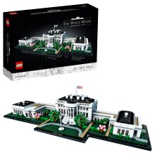 LEGO 21054 Architecture The White House Model, Landmark Collection for Adults, Collectible Gift Idea