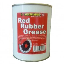 Red Rubber Grease Multi Purpose 500g Prevent Rubber Drying, Hardening & Cracking