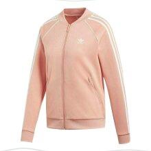 Adidas Originals SST Jacket Sports Track Top Zip Up Jacket Pink DV2635