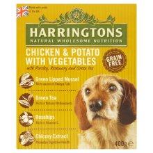 Harringtons Wet Chicken & Potato 400g (Pack of 8)