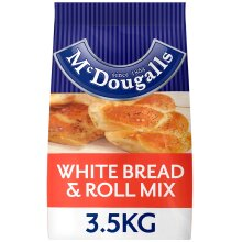 McDougalls White Bread and Roll Mix - 1x3.5kg