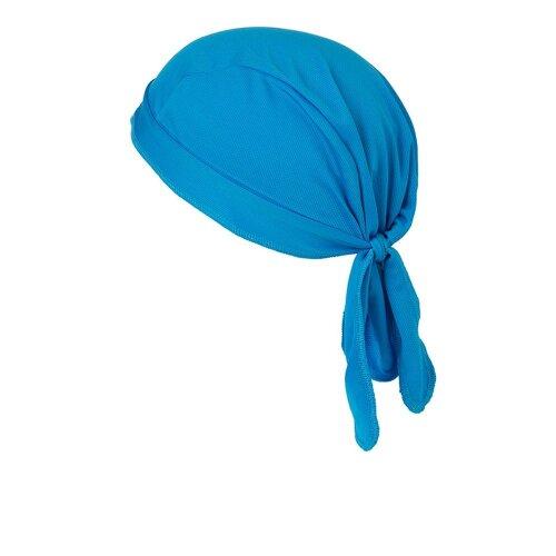 (One Size, Bright Blue) Myrtle Beach Functional Bandana Hat