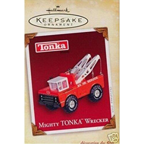 Hallmark Keepsake Mighty Tonka Wrecker 2005 Christmas Ornament