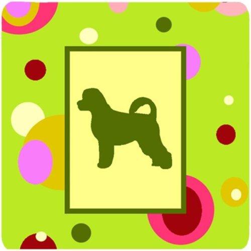 Portuguese Water Dog Foam Coasters - Set 4