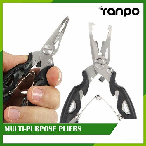 Fishing Pliers Split Ring Scissors Wire Cutter Hook Tool