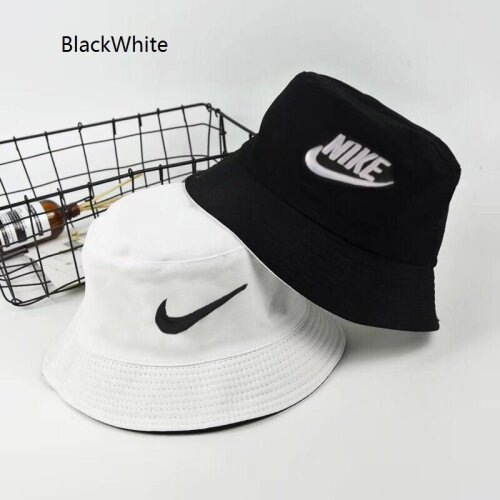 (BlackWhite) Unisex Two Color Fashion Two-Sided Bucket Hat