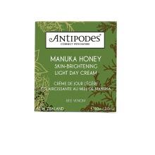 AntiPodes Manuka Honey Skin-Brightening Light Day Cream 60 Ml